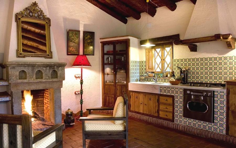 Tortuga molino rio alajar 4 pers - Open haard keuken photo ...