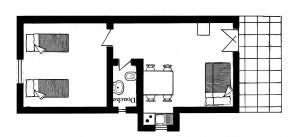 PLATTEGROND Maronic apartement