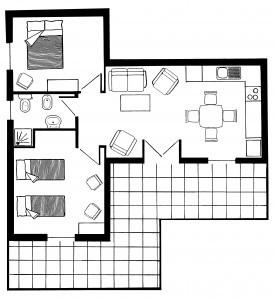 VERADA 2 plattegrond