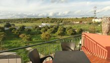 Villa Patarinho | 1ste verdieping appartement | uitzicht vanuit balkon
