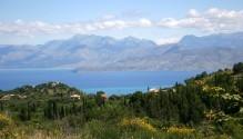 Corfu landschap